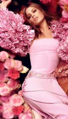 all in pink. <3