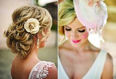 Newport Wedding Hair QandA: New Leaf Hair Studio Bohemian Wedding Hair, Wedding Braids, Romantic Wedding Hair, Wedding Hair Down, Wedding Hair And Makeup, Bridal Hair, Bride Hairstyles, Messy Hairstyles, Romantic Curls