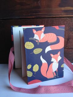 FOX Accordion book by ShanMarieJones Accordion Book, Types Of Books, Book Binding, Fox, Unique Jewelry, Handmade Gifts, Vintage, Etsy, Kid Craft Gifts