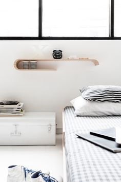 shelf next to bed - Rafa-kids