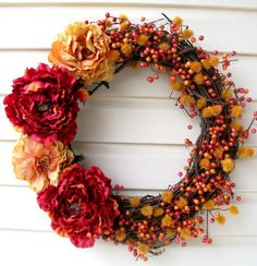 Miss Lovie: Welcome Fall Wreath {A Tutorial}