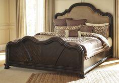 Ashley Furniture Shardinelle Upholstered Panel Bed
