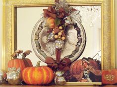 My Thanksgiving Decor 2012 at ModVintageLife.com