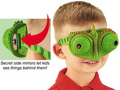 $15 see like a lizard sees in front and behind at the same time-- Lizard Lenses