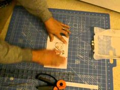 Embroidery on card stock Jion our group on facebook Futura Embroidery - YouTube