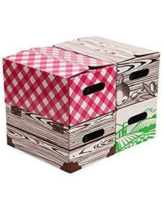 Quart Jar Storage Boxes by VICTORIO Looking for the best solution for storing and gifting the fruits of your canning season? These colorful, sturdy corrugated cardboard boxes in a handy may be your answer! Food Storage Containers, Storage Boxes, Storage Baskets, Canning Jar Storage, Canning Jars, Fabric Storage Bins, Fabric Bins, Mason Jar Garden, Corrugated Cardboard Boxes