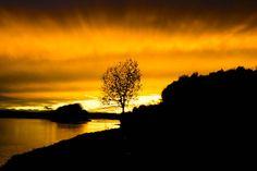 """""""Sonnenuntergang (Ottensheim)"""" Belichtungszeit: 1/100 Blende: 4 Brennweite: 24mm (Bild: Leimer Anja)"""