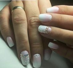 If your nails are weak do not color them with ordinary nail polish. Instead of it put gel on your nails. Your nails will be stronger, and the color will last a long time, until you decide that you need to do correction.