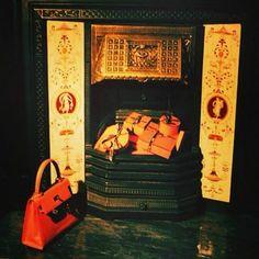 My bedroom fireplace in Mount Street