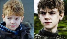 Plays a thirteen year old in Game of Thrones.... Is actually 23. @mamashell6206