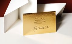 Fashion week S/S 2014 invitations: womenswear collections | Chloé