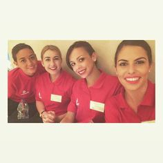 Emirates stewardess trainees crewfie @tabwilliamsxx