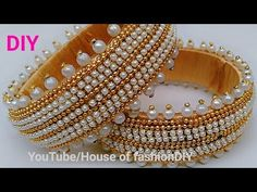 How To Make Designer Silk thread Bangles At Home With Easily Available Materials. Silk Thread Jhumkas, Silk Thread Bangles Design, Silk Bangles, Silk Thread Earrings, Bridal Bangles, Thread Bracelets, Thread Jewellery, Diy Jewellery, Jewellery Designs