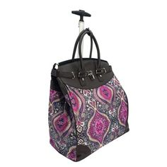 Shop for Fashion Tai Mahal Foldable Rolling Carry On Laptop/Tablet Tote Bag. Get free delivery On EVERYTHING* Overstock - Your Online Luggage Store! Carry On Tote, Best Carry On Luggage, Rolling Laptop Bag, Hard Sided Luggage, Underseat Carry On, Luggage Deals, Luggage Store, Best Lunch Bags, Latest Bags