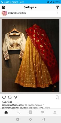 super Ideas for fashion summer party clothes Choli Designs, Lehenga Designs, Saree Blouse Designs, Indian Bridal Wear, Indian Wedding Outfits, Indian Outfits, Indian Wear, Indian Clothes, Indian Lehenga