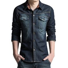 Partiss Herren Denim Guenstig Freizeit Jeans Hemd Shirts Partiss http://www.amazon.de/dp/B012ZPUL4W/ref=cm_sw_r_pi_dp_Dvu8vb0QSQEPN