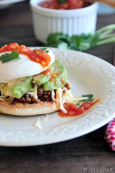 Mexican Egg Benedict