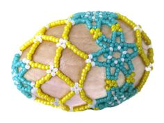 Beaded Easter Eggs Handcrafted Beaded Eggs Colorful by APerfectGem, $18.00 www.etsy.com/shop/aperfectgem