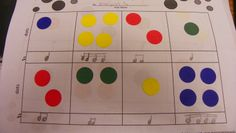 Dot Composing for rhythms