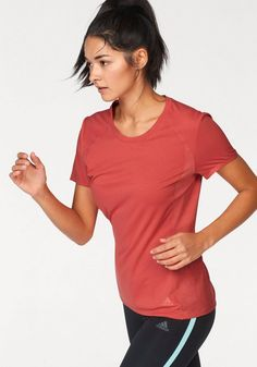 adidas Performance Laufshirt »cFR SN SS TEE« für 39,95€. Laufshirt von adidas, Rundhalsausschnitt, Hinten etwas länger geschnitten bei OTTO