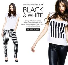 United Colors Of Benetton - Black & White: Spring Must Have!