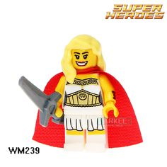 Building Blocks She-Ra Princess of Power DC Marvel Super Heroes Star Wars Action Bricks Kids DIY Toys Hobbies WM239 Figures #Affiliate