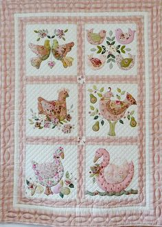 Birds Applique