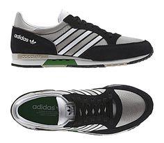 adidas Originals Phantom – Collegiate Silver / Black – Running White