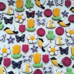 Jarní perníčky Spring cookies