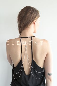 Body chain jewelry - Lust http://e7s.co/g ELEMENT 7
