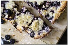 Blueberry Pie Bars by kleinworthco #Bar_Cookies #Blueberry_Pie