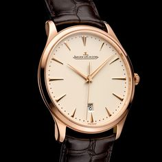 Vivid expressions of watchmaking minimalism Jaeger-LeCoultre Master Ultra Thin & Master Ultra Thin Date (See more at En/Fr/Es: http://watchmobile7.com/articles/jaeger-lecoultre-master-ultra-thin-master-ultra-thin-date) (2/4) #watches #jaegerlecoultre @Jaeger-LeCoultre