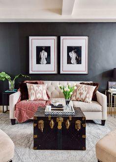 Стиль, шарм и элегантность на 32 кв. м   Пуфик - блог о дизайне интерьера