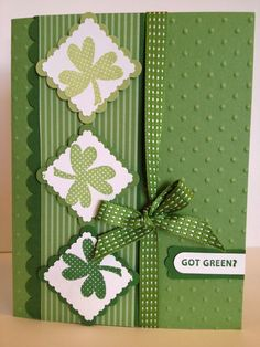 Opens new window- St. Patrick's Day card