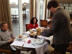 Opnames hummustest van Kassa Groen van de Vara, vanmiddag. Uitzending op 4 februari!