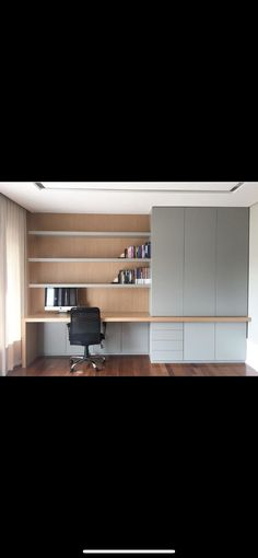 Home Office Closet, Home Office Space, Home Office Design, Home Office Decor, Home Decor Bedroom, House Design, Blue Bedroom Colors, Study Room Design, Home Alone