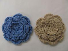 Leona Flower & Variations | skerin.. Free pattern!