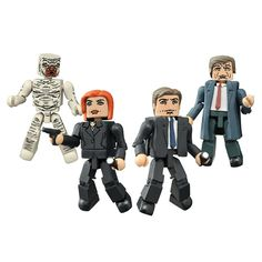 X-Files Is Back, So Get Minimates