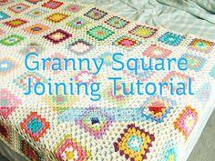 Crochet tutorial: joining granny squares by Carina » Polka & Bloom, via Flickr