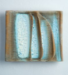 Ceramics by Gary Wood at Studiopottery.co.uk - _Free range 3_. Stoneware wall panel, 2008.