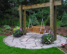 Landscape Swing Design, Pictures, Remodel, Decor and Ideas - page 6