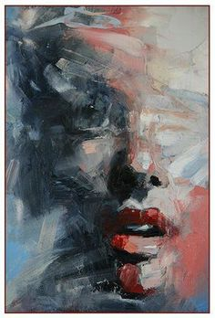Ryan Hewett – Malerei – Picbilder- Wir Für Bilder – Ini S – Art Abstract Portrait, Portrait Art, Abstract Art, Portraits, Abstract Paintings, Face Art, Art Faces, Oil Painting On Canvas, Painting Art