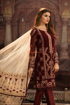 ,salwar kamiz,red and golden combination very beautiful party dress .size is medium, Pakistani Couture, Pakistani Bridal Dresses, Pakistani Dress Design, Pakistani Outfits, Indian Dresses, Indian Outfits, Pakistani Fashion Party Wear, Latest Pakistani Fashion, Desi Wear
