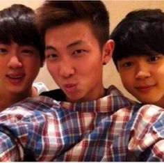 <3 #predebut... Are those chipmunk cheeks!!!! There so flipping cute! Petition to bring them back please! Bring back Jimins' chipmunk cheeks!