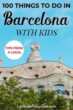 Barcelona is a kid-friendly city. Find things to do in Barcelona: parks, museums, plazas, and more. Over 100+ activities to do with your family in Barcelona, Spain. #barcelona #spain #familytravel #europe