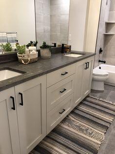 Double Vanity, Kitchen Cabinets, Future, Bathroom, Home Decor, Washroom, Future Tense, Decoration Home, Room Decor