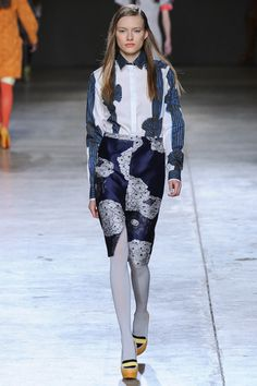 Michael van der Ham Fall 2014 Ready-to-Wear Collection Slideshow on Style.com