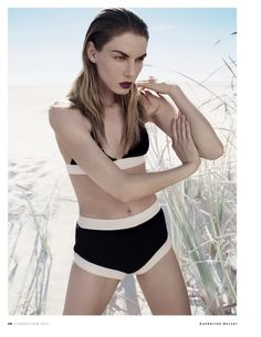VOGUE Russia May 2013  Title : Water Stadium Photography : Catherine Servel Model : Angela Lindvall