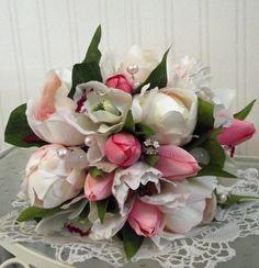 Tulip Bridal Bouquet £35.00