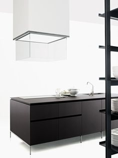 Contemporary style kitchen without handles XILA - Boffi